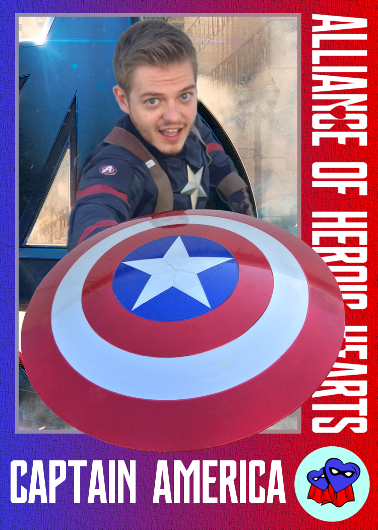 Gregory Patrick: aka Captain America